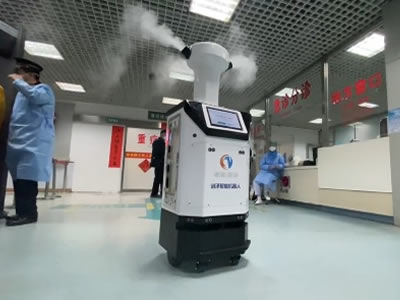 消毒机器人应用